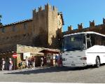 tourists visiting Tuscania 1